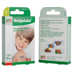 PANSEMENT VELPEAU KIDS TATTOO 4 MOTIFS
