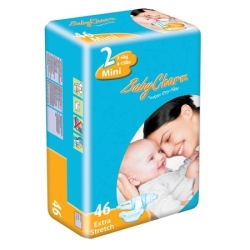 COUCHES BABY CHARM SUPER DRY NAPPY MINI