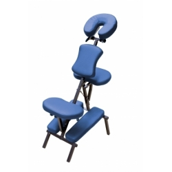 CHAISE DE MASSAGE BLEUE