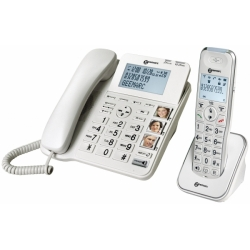 TELEPHONE FILAIRE + COMBINE AMPLIDECT 295