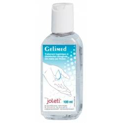 GEL DESINFECTANT DES MAINS GELIMED JOLETI