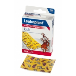 PANSEMENT LEUKOPLAST KIDS 1MX6CM